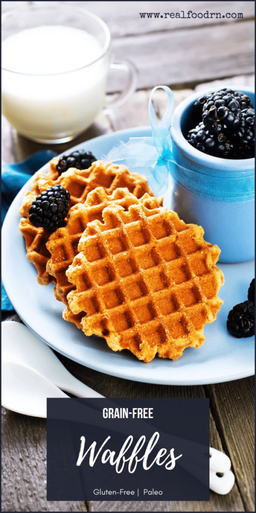 Easy Breakfast: Grain-Free Waffles   Real Food RN
