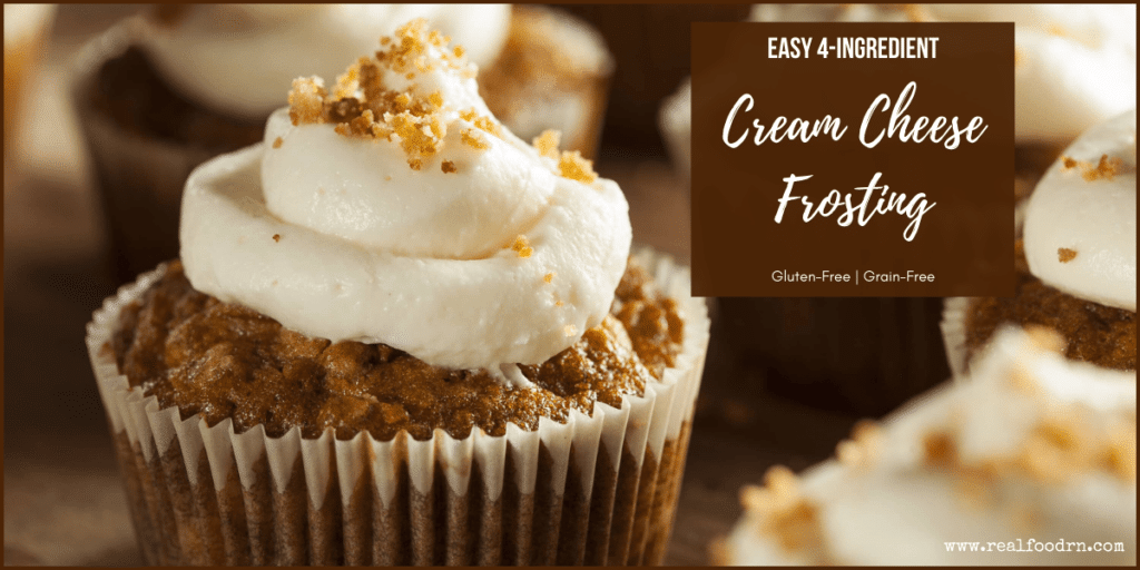 Easy Cream Cheese Frosting | Real Food RN