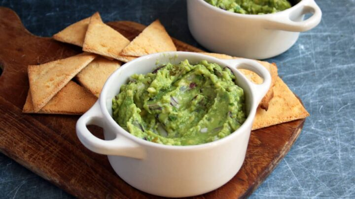 Simple Homemade Spicy Guacamole | Real Food RN