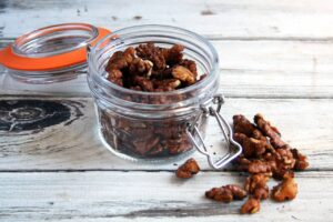 5-Ingredient Spicy Rosemary Walnuts | Real Food RN